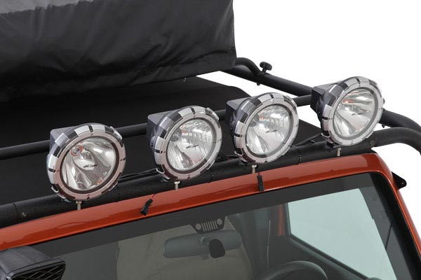 pro comp explorer hid lights installed