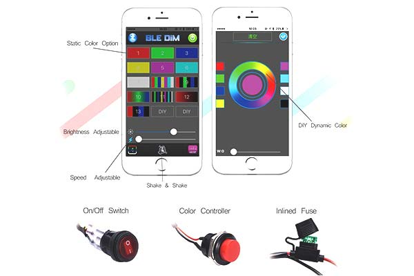 proz bluetooth cc cree led diagram