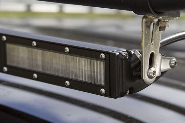 proz combo single row cree led light bars detail