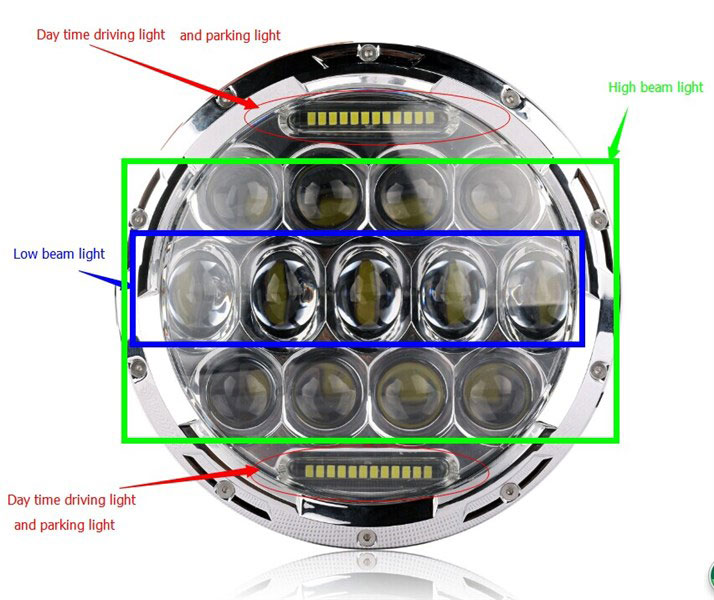 proz premium led replacement headlights info
