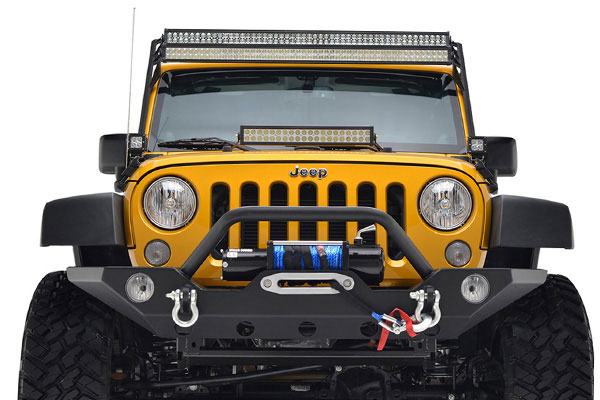 proz windshield light mounts installed