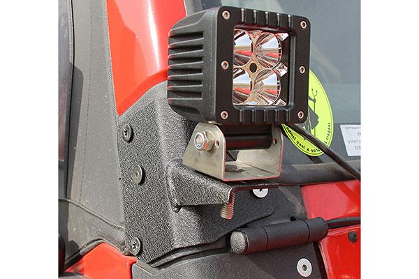 proz a pillar light mount jk installed