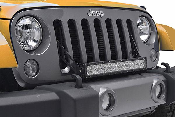 proz grille light bar mounting kit detail