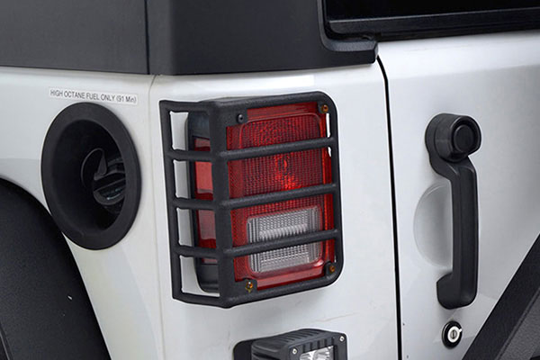 proz premium rock crawler tail light guards installed