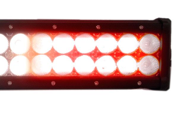 proz reverse led light bar detail