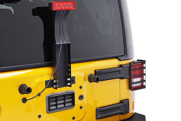 proz third brake light mounting bracket jeep installed