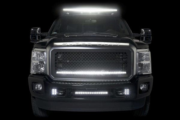 putco led light bar roof mount bracket ford superduty