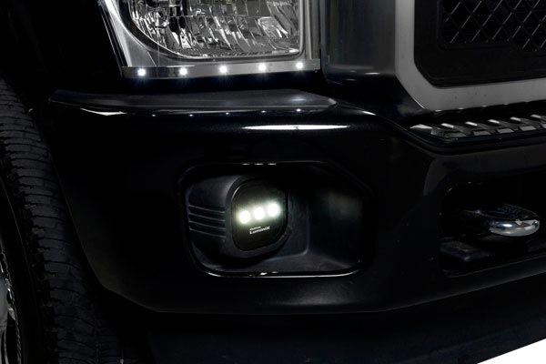 putco luminix led fog lamps closeup