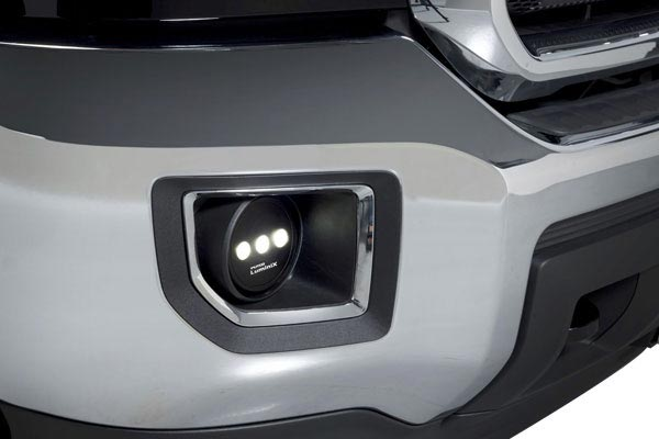 putco luminix led fog lamps side