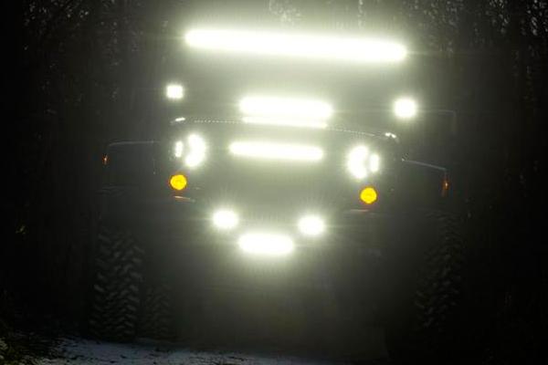 putco luminix led headlights jeep lifestyle night