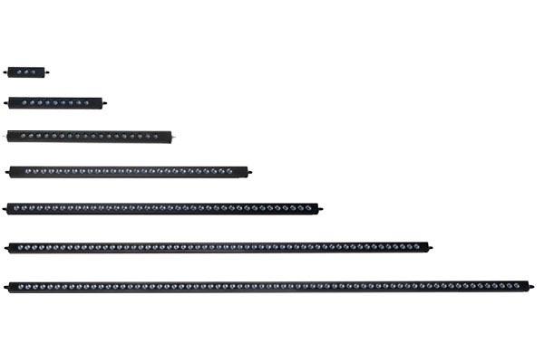 putco luminix led light bars size comparision