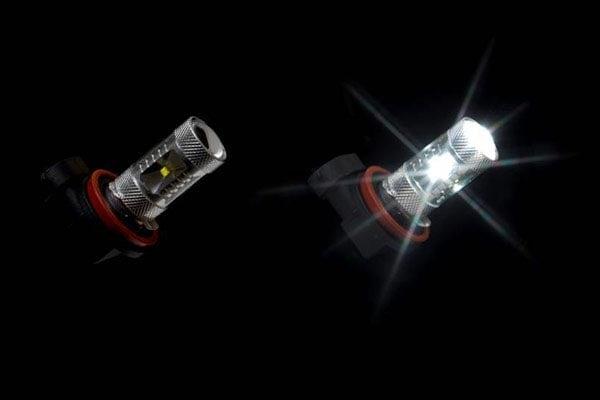 putco optic 360 led fog lamp bulbs illumination