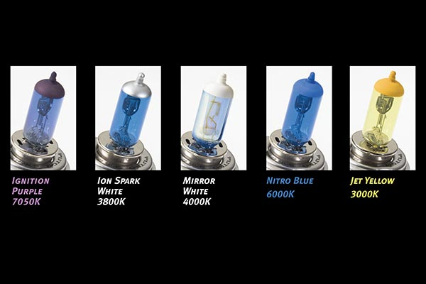 putco pure halogen headlight bulbs comparison