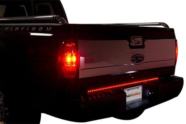 putco pure led tailgate light bar brake