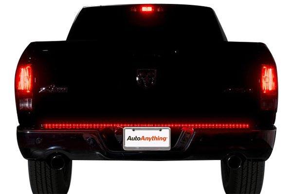 putco pure led tailgate light bar rear brake