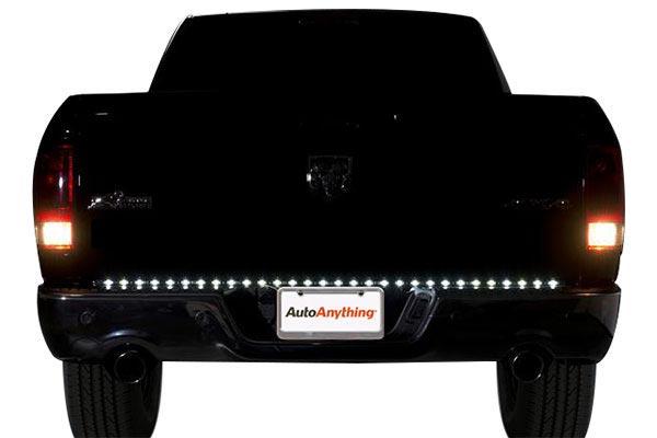 putco pure led tailgate light bar rear reverse day