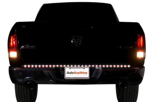 putco pure led tailgate light bar rear reverse night