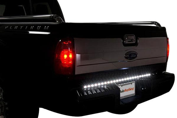 putco pure led tailgate light bar white