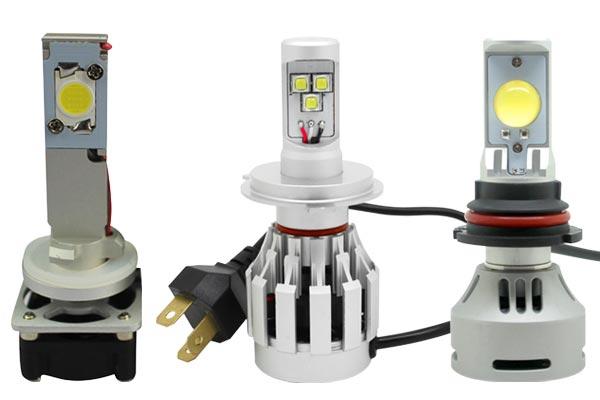 Headlight Bulb Size : Putco universal led headlight bulb conversion kit