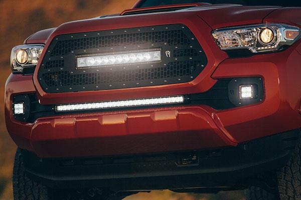 rigid bumper mounted led light kit tacoma 2