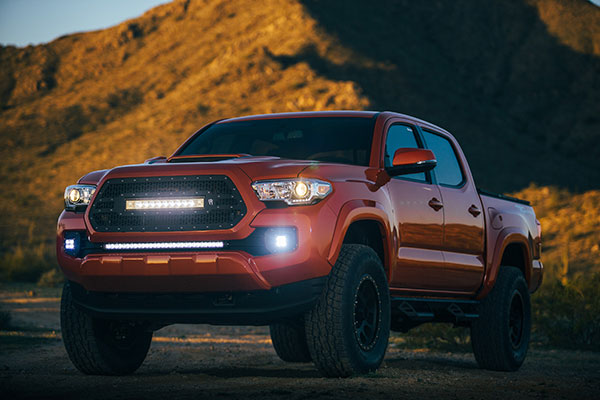 rigid led fog light kit tacoma 2