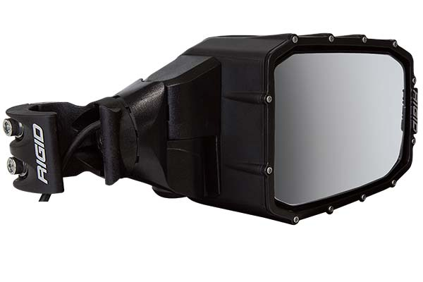 rigid reflect led side mirrors angled