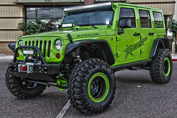 rigid industries a pillar light mount kits green rubicon