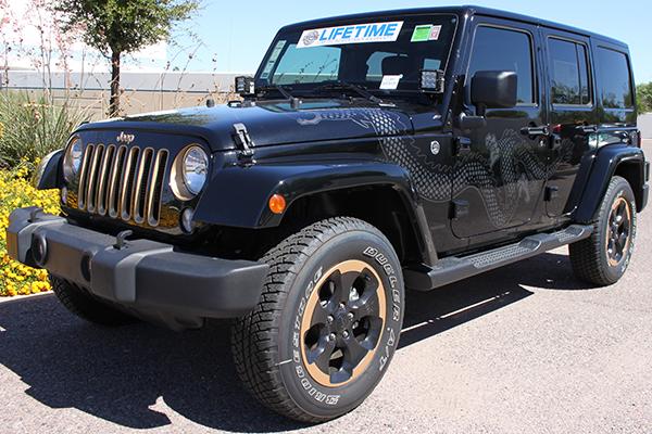 rigid industries d2 xl led lights jeep installed