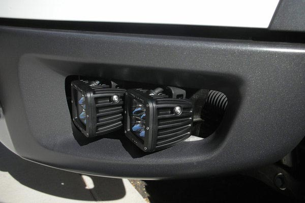 rigid industries dually hd series led lights side view