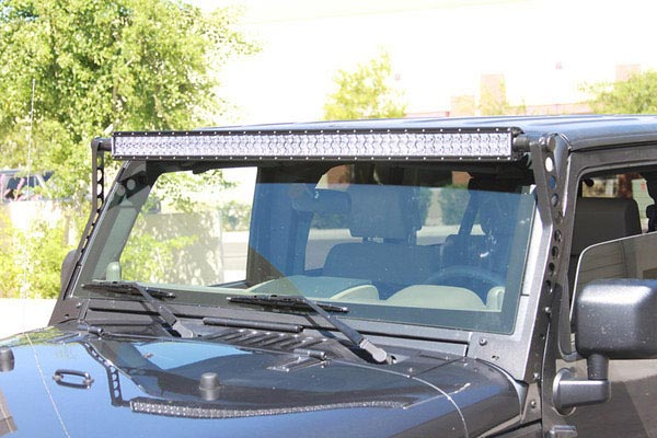 rigid industries e2 series led light bars jeep 50 inch