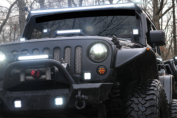 rigid industries e mark certified sr series led light bars lifestyle