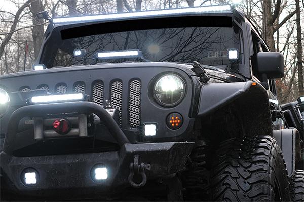 rigid industries e mark certified sr series led light bars lifestyle