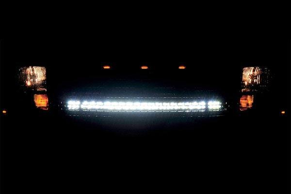 rigid industries grille lightbar mount kits illuminated