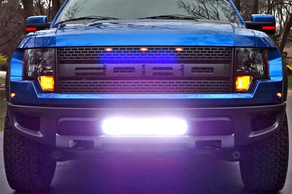 rigid industries grille lightbar mount kits lower grille