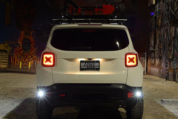 rigid industries ignite led back up light kit installed