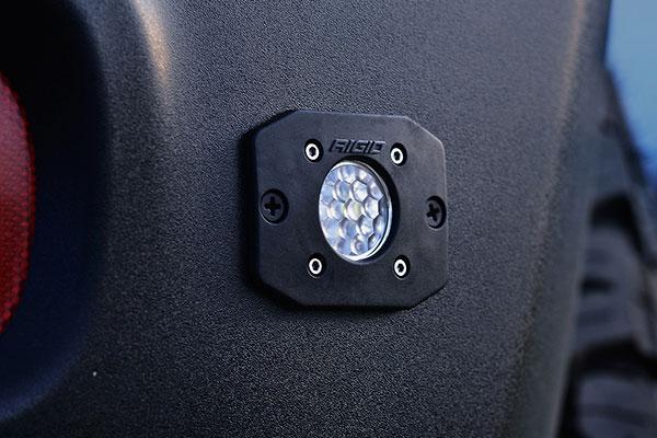 rigid industries ignite led back up light kit installed 2