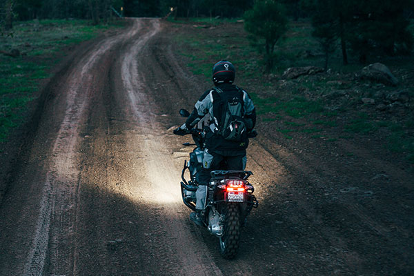 rigid industries ignite led motorcycle light kit lifestyle