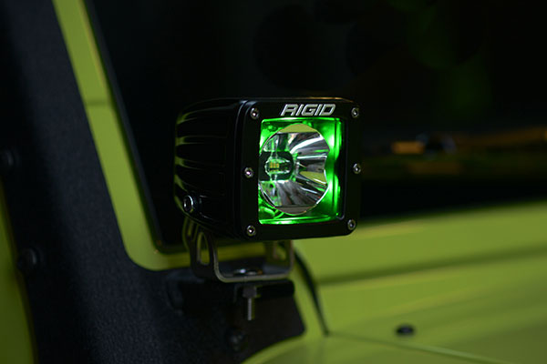 rigid industries radiance led light pod green