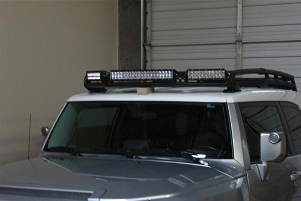 rigid industries roof lightbar mount kits toyota jf