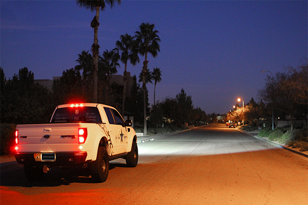 rigid industries sae certified led driving lights f150 installed