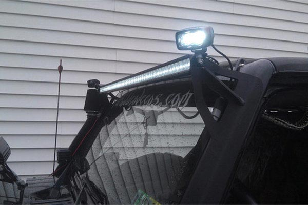rigid industries sr m series led lights in use
