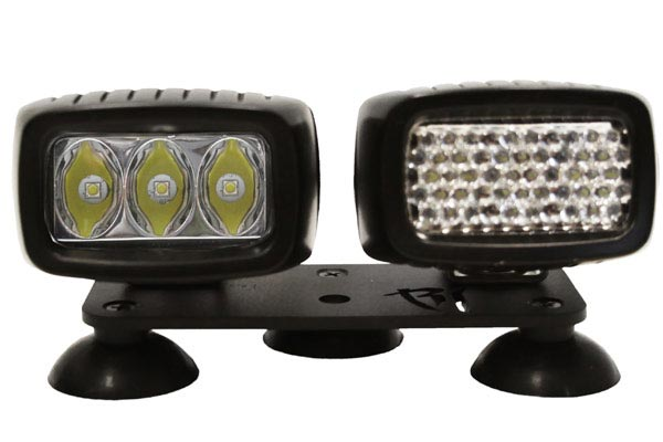 rigid industries suction cup light mount kit two lights