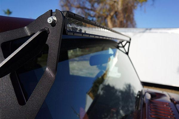 rigid industries windshield lightbar mount kits detail