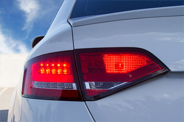 spyder led tail lights audi a4 illuminated