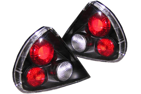 spyder euro tail lights black