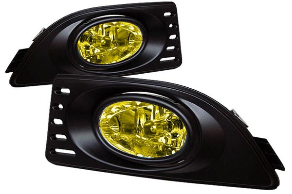 spyder fog lights amber