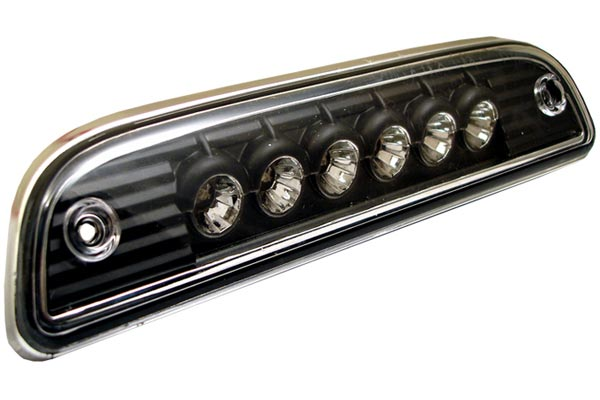 spyder led third brake light black