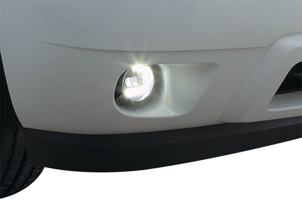 sylvania zevo led fog lights detail