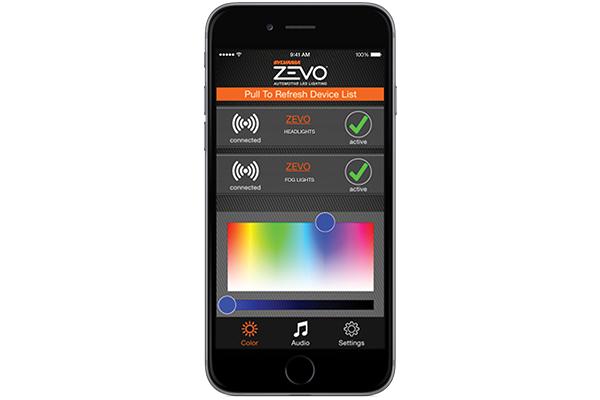 sylvania zevo led pulse lights iphone zevo app control