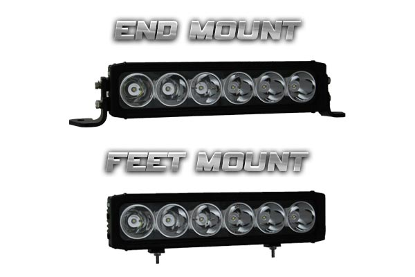 vision x xpi led light bars two mounts
